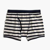 J.Crew Navy-striped knit boxer briefs