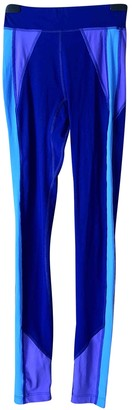 Isabel Marant Blue Spandex Trousers