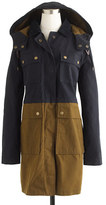 J.Crew Long colorblock field jacket