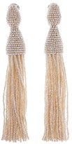 Oscar de la Renta Women's Long Tassel Drop Earrings