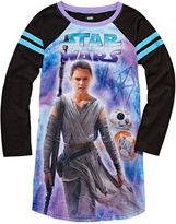 Asstd National Brand Star Wars Nightgown-Big Kid Girls