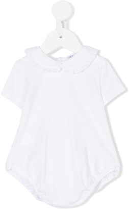 Siola ruffled Peter Pan collar body