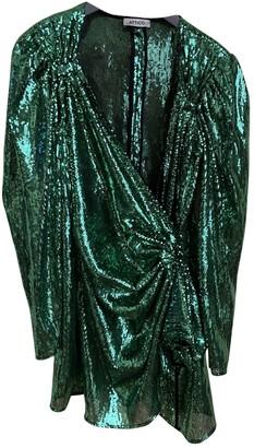 ATTICO Green Polyester Dresses