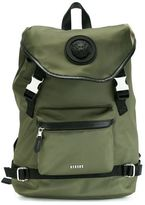 Versus Nylon Backpack With Logo