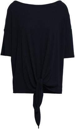 Skin Ribbed-knit Pajama Top