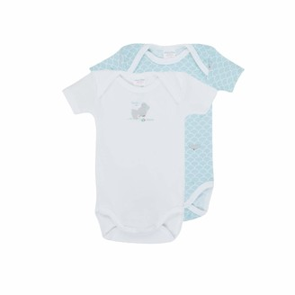 Absorba Body Bebe Azul Medio Ropa interior para bebe nino Bleu Moyen 3 Meses