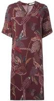 Hope printed v-neck dress