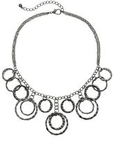 Apt. 9 Hammered Circle Link Necklace