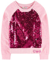 Desigual Sweatshirt with reversible sequins