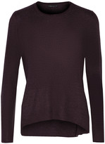 Theory Ellyna ribbed Merino wool sweater