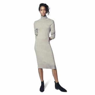 b new york Women's Long Sleeve Mockneck Sweater Dress