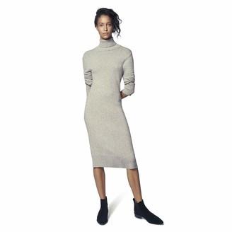b new york Women's Recycled Long Sleeve Mockneck Sweater Dress