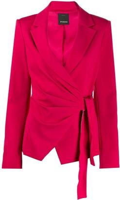 Pinko side tie-fastened blazer