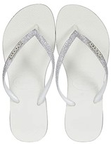 Havaianas Slim Sparkle Sandal (White) Women's Shoes