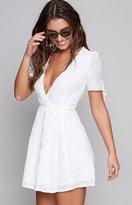Beginning Boutique Sweet Dreams Wrap Dress White