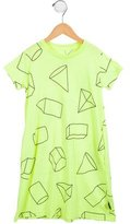 Nununu Girls' Printed Short Sleeve Dress
