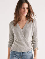 Lucky Brand Button Wrap Cardigan