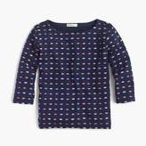 J.Crew Girls' T-shirt in kiss print