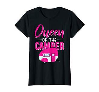 Camper Funny Queen Of The Camping Shirt