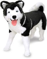 Melissa & Doug Husky Dog Giant Stuffed Animal