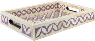 Wicklewood Small Leaf Inlay Tray