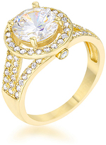 Kate Bissett Cubic Zirconia & Gold Classic Ring