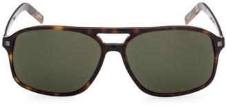 Ermenegildo Zegna 60MM Plastic Square Sunglasses