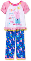Peppa Pig 2-Pc. Sea You In The Morning Pajama Set, Toddler Girls (2T-5T)