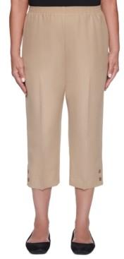 Alfred Dunner Classics Pull-On Capri Pants