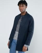 Kiomi Longline Wool Bomber Jacket