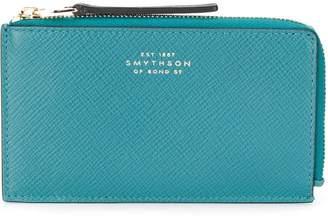 Smythson Panama zipped wallet