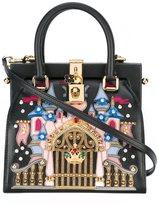 Dolce & Gabbana castle patch tote