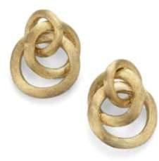 Marco Bicego Jaipur Link 18K Yellow Gold Earrings