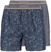 Skiny 2 Pack Boxer Shorts Darknavy
