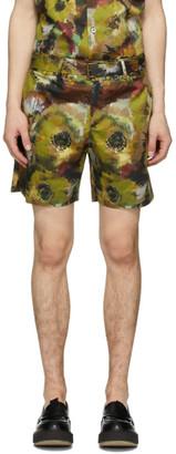 Davi Paris Multicolor Branly Print Shorts