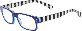 SAV Eyewear (Select-A-Vision) VK Couture Fashion Rectangular Reading Glasses 1309 Blue 3.00