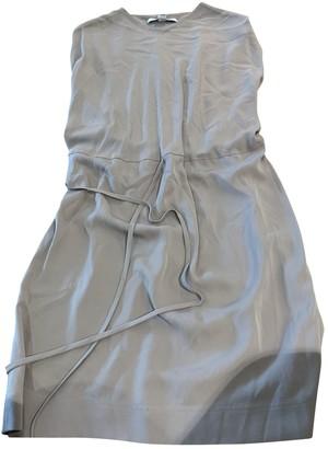 Diane von Furstenberg Purple Silk Dresses