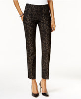 JM Collection Printed Cropped Pants, Only at Macy's