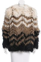 Theory Cassius Tersk Fur Jacket w/ Tags