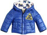 Fendi Bug-Kun Reversible Nylon Puffer Jacket