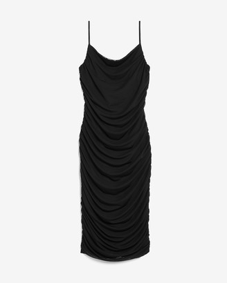 Express Ruched Cami Sheath Dress