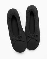 Soma Intimates Ballet Slippers Black
