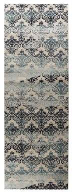 "Ophelia & Co. Halloran Saruk Ivory Area Rug & Co. Rug Size: Rectangle 8'7"" x 12'6"""
