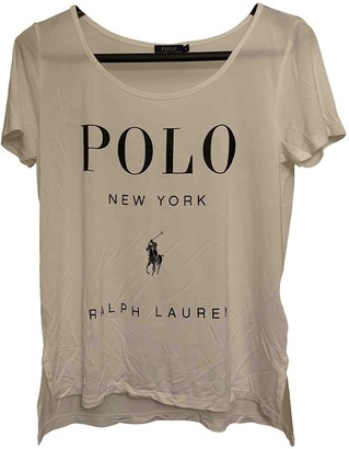 Polo Ralph Lauren White Top for Women