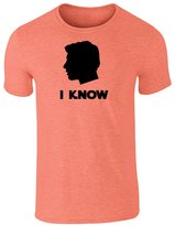 PCG Pop Threads I Know. Solo Silhouette L Short Sleeve T-Shirt