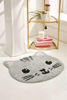 Urban Outfitters Grey Cat Bath Mat