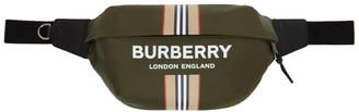 Burberry Green ECONYL Sonny Bum Bag