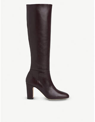 LK Bennett Kristen leather knee-high boots