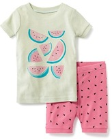 Old Navy 2-Piece Watermelon Graphic Sleep Set for Toddler