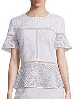 Escada Silk Lace Top